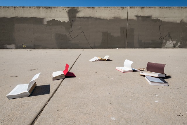 Book Yard, Juliet Haas, Photography