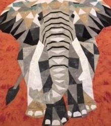 Elephant Quilt, Jeanne Powell