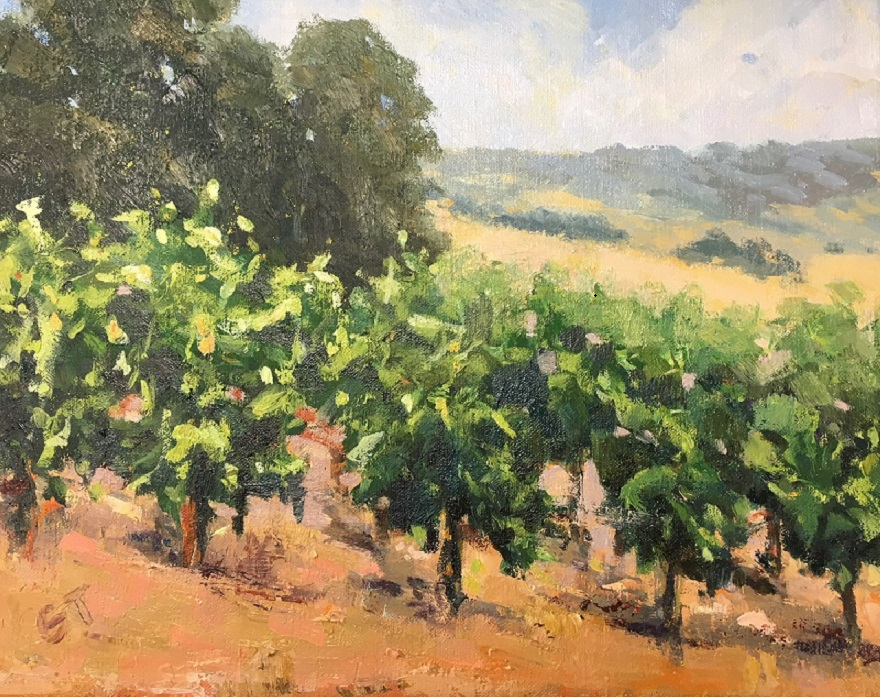 Wine in the Making, Gail Thelin