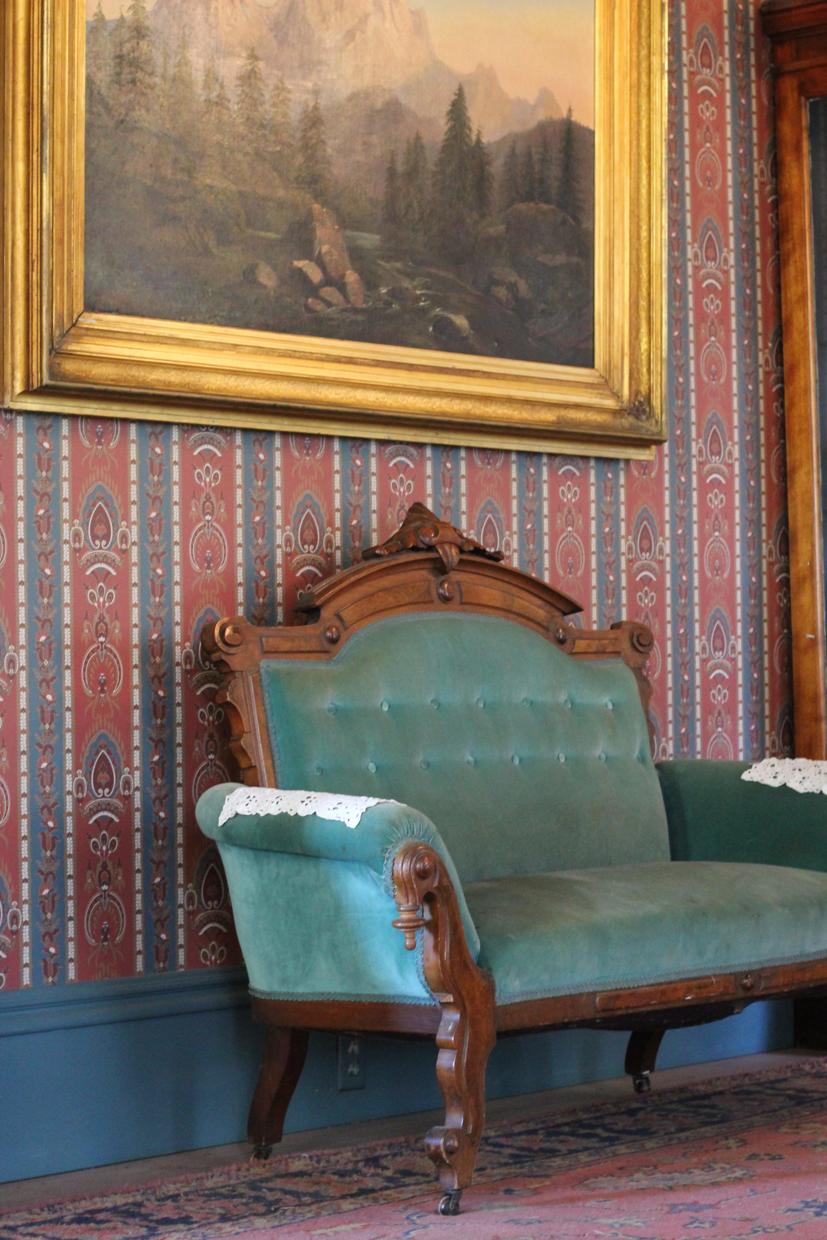 Gibson House Interior