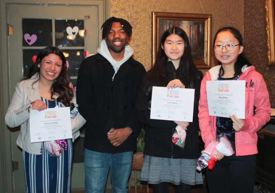 2019 Yolo County Poetry Out Loud Competition