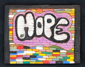 """HOPE"", ANGIE HERNANDEZ, GRADE 10, CERAMIC"