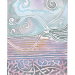"""Above Below   Watercolor (Giclee Print, LE 2/60) 5"""" x 7"""""""