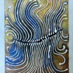 """Cleave Watercolor (Giclée Print, LE 1/60) 5"""" x 7"""""""