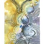 """Five Watercolor (Giclée Print, LE 2/60) 5"""" x 7"""""""
