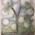 "Fork Watercolor  30"" x 22"""