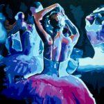 """Second Act"" - Acrylic on Canvas- 18"" X 22"" – 2016"