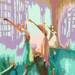 """The Joy Within"" Acrylic on Canvas- 14"" X 16"" – 2020"