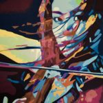 """""""Melody on a Breeze"""" - Acrylic on Canvas- 18"""" X 22"""" – 2020"""