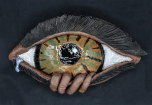 """THE EYE"", JASON LEE, GRADE 11, CERAMIC"