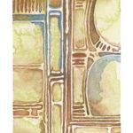 "Organized I Watercolor (Giclée Print, LE 1/60) 5"" x 7"""