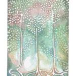 "Three Sisters Watercolor (Giclée Print, LE 3/60) 5"" x 7"""