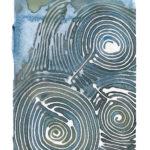 """Trio Watercolor (Giclée Print LE 1/60) 5"""" x 7"""""""