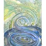 "Water Watercolor (Giclée Print, LE 1/60) 5"" x 7"""