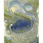 """Wind Watercolor (Giclée Print, LE 1/60) 5"""" x 7"""""""