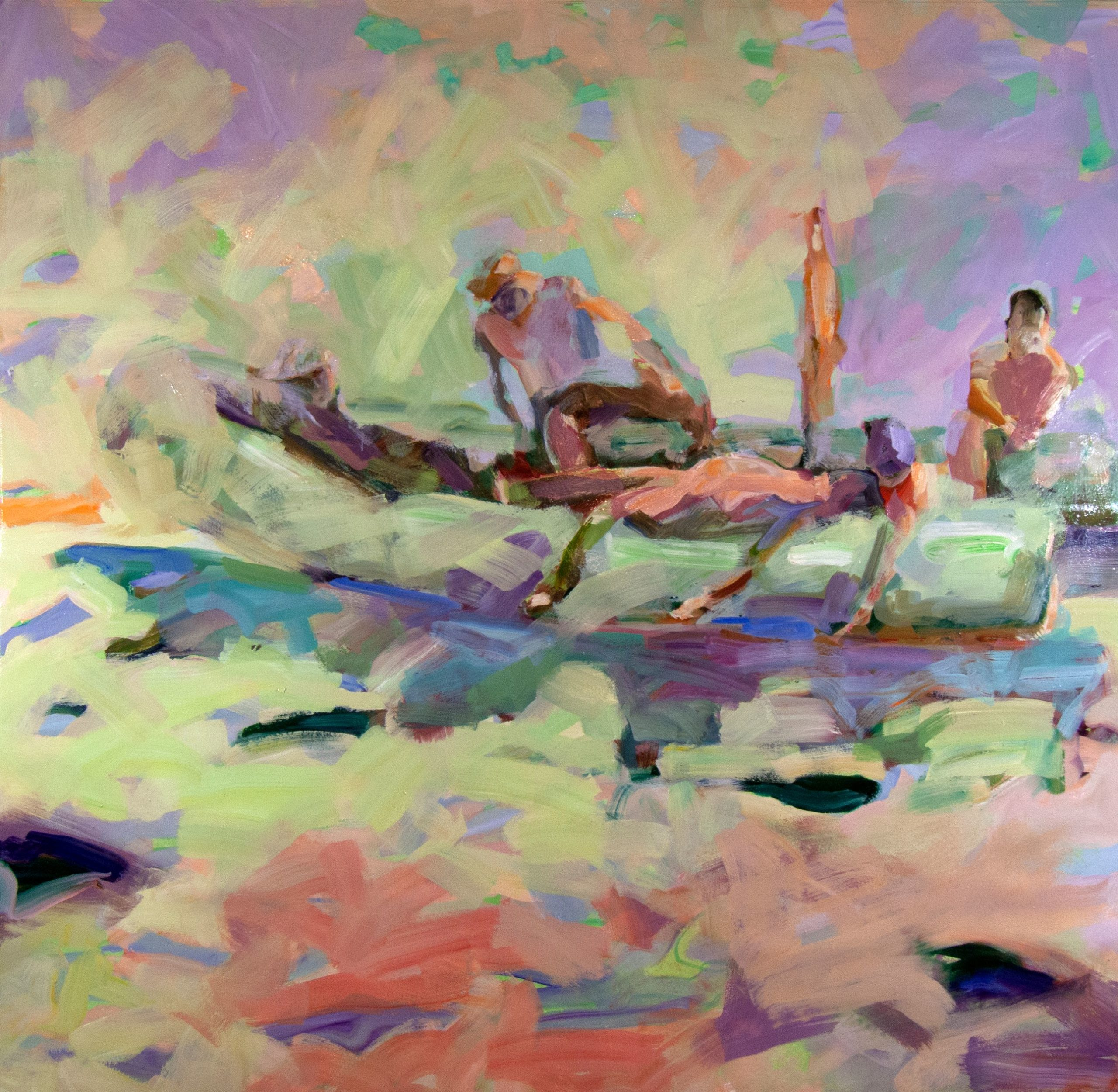 Mel Smothers, El Bote 4, Oil on canvas