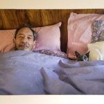 "Anita Fein, Home Is Where the Cat Is, Digital print, 16""x20"", $200"