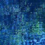 "Alan Fishleder, Blue Reflection, Archival pigment print, 20""x16"""