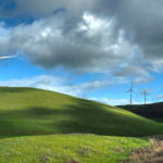 """Greg Jung, Spring Storm Clearing at the Altamont Pass, Photograph, 11""""x20"""", $125"""