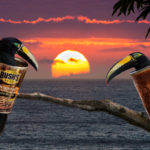 """Jan Lightfoot, Two Cans at Sunset, Inkjet archival print, 16""""x20"""", $260"""
