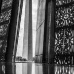 "John Bernard, Washington Monument from Museum of African American Culture, Photograph, 16""x20"""