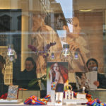 "Laurie Friedman, Florence Window Reflection, Photograph, 16""x20"""