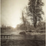 """Lucille van Ommering, Last Rays on a Foggy Afternoon, Photograph, 18""""x24"""""""