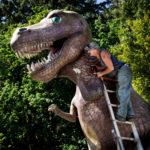 """Steve Nieslony, The T-Rex Whisperer, Pigment print, 16""""x20"""""""
