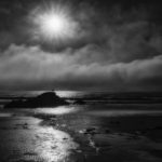 "Maryellen Bauer, Bright Sun Black Beach, Photograph on satin lustre paper, 18""x24"", $125"