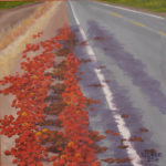 """September in Solano County, Acrylic on canvas, 12"""" x 12"""""""