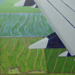 """View from the Window Seat (Coming Home), Acrylic on canvas, 30"""" x 24"""""""