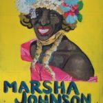 """Aislinn Murray, Marsha P. Johnson, Acrylic on cardboard, 24""""x29"""", NFS"""