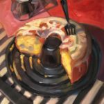 """Polly LaPorte, 7-Up Cake, 16""""x20"""", Oil on canvas, $640"""