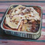 """Robert Gonsowski, Cinnamon Pan, 16""""x20"""", Oil on canvas, $640"""