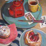 "Robert Gonsowski, Good Deal, 24""x20"", Oil on canvas, $900"