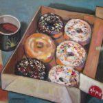 "Robert Gonsowski, Sprinkles Rule, 18""x24"", Oil on canvas, $860"