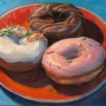 """Polly LaPorte, Trifecta, 12""""x16"""", Oil on canvas, $380"""